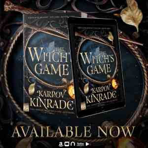 The Witch's Game by Karpov Kinrade - Available Now