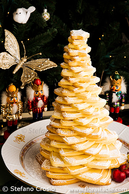 Happy New Year Cookie Tree