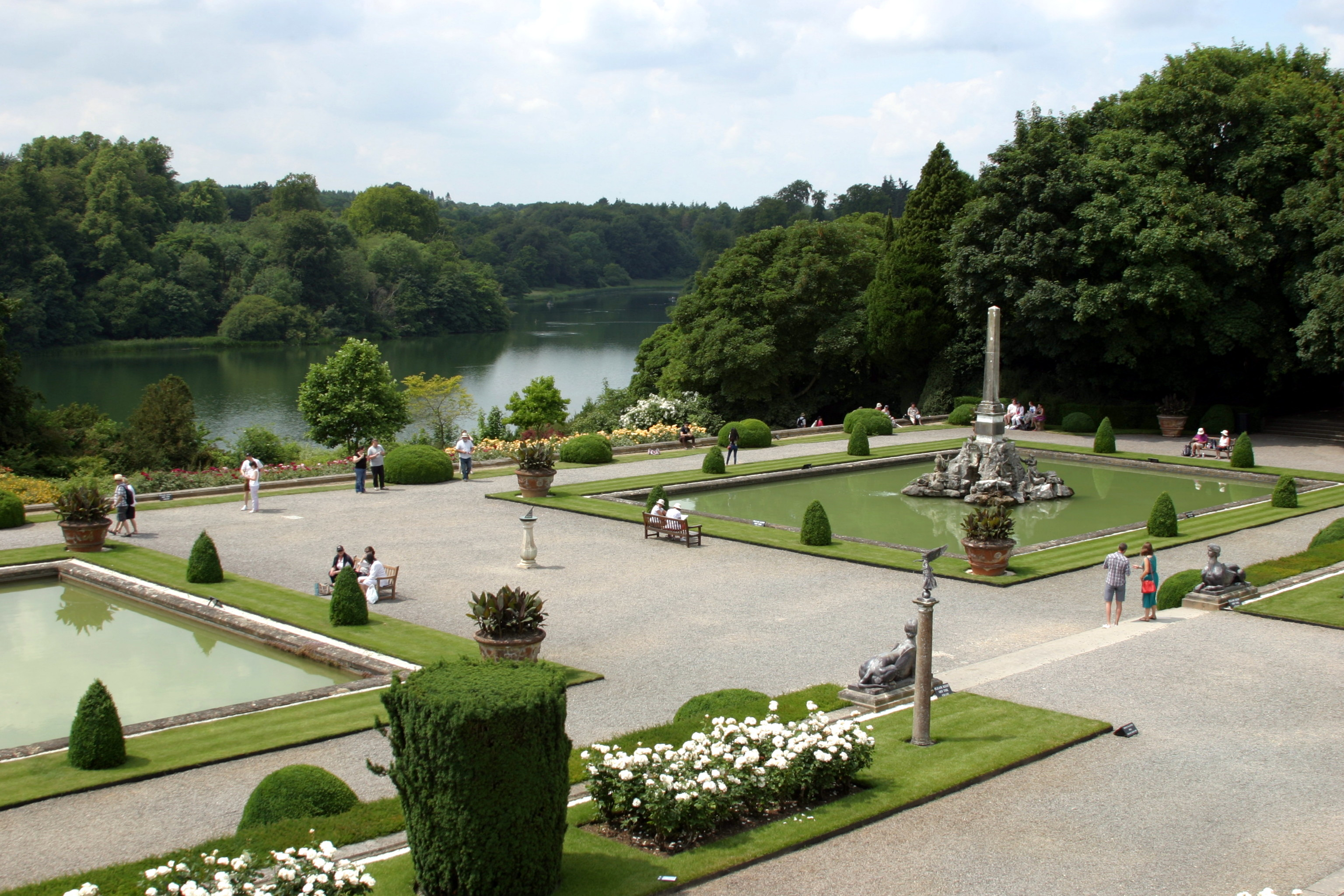 Blenheim Palace Gardens – Oxfordshire