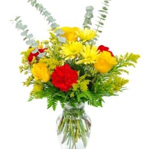 bouquet fleurs Eclat