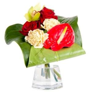 bouquet fleurs sourire maroc