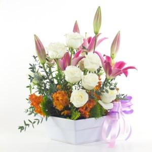 bouquet fleurs tendresse