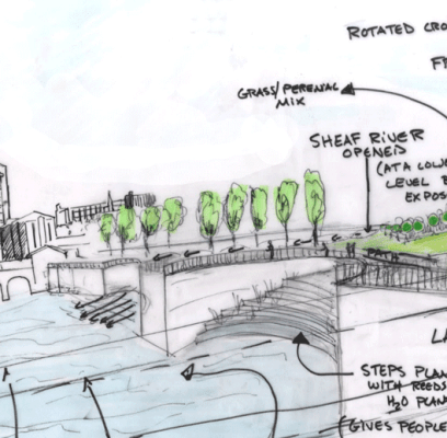 Sheffield's Riverside Business Park – Conceptual Design