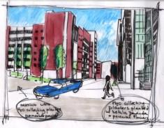 Sheffield's Riverside Business Park - Conceptual Design 1