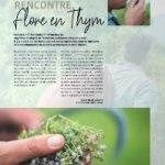 thym et gastronomie en Occitanie