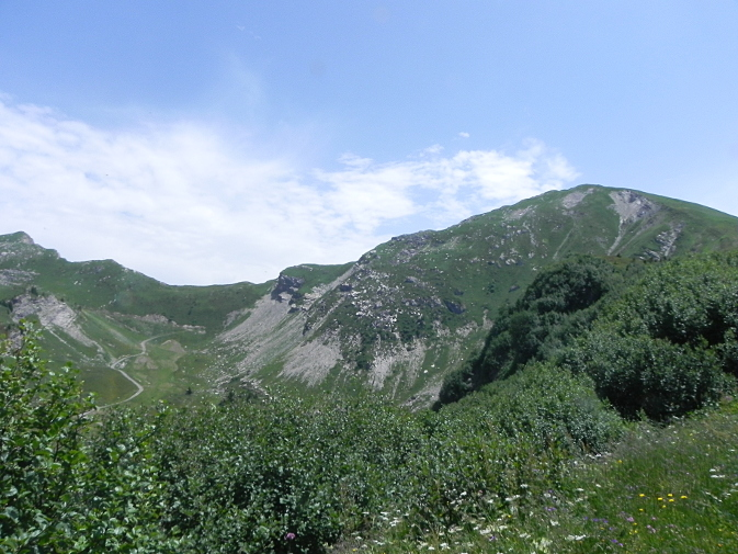 Pointe de Chésery, 2251 m