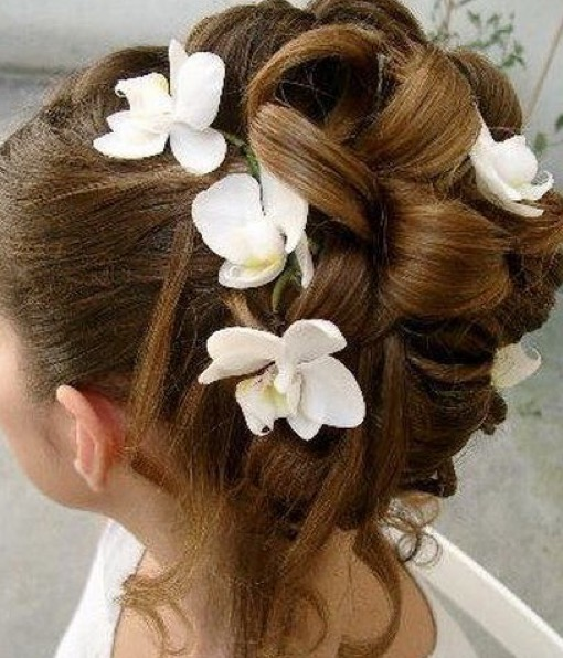 coiffure mariage fillette Florence coiffure