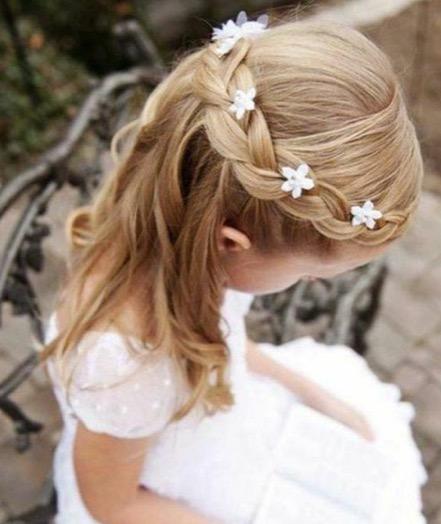 coiffure fillette mariage Florence coiffure domicile