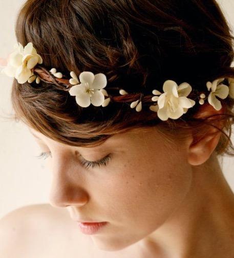 bandeau fleur Florence coiffure domicile