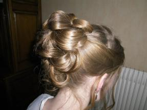 chignon katy florence coiffure