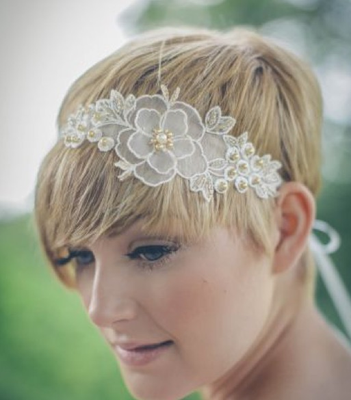bandeau mariage Florence coiffure artigues