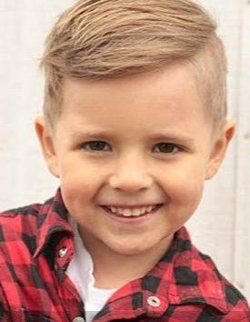 coupe petit garcon, coiffeur enfant artigues