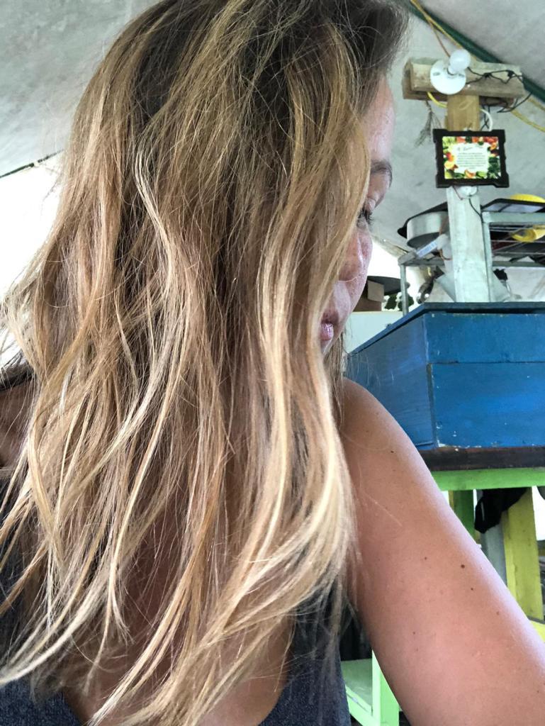 balayage naturel, coiffure à domicile tresses