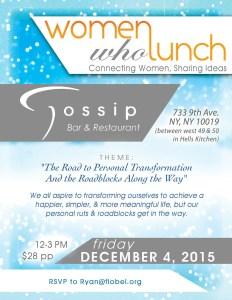 WWL NYC Dec 2015