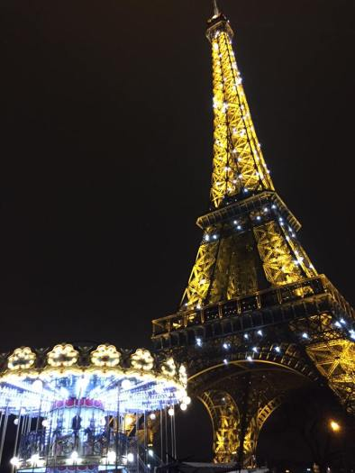 Eiffel Tower at night!