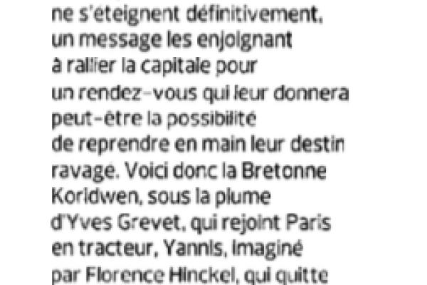 Figaro Littéraire, 10 septembre 2015