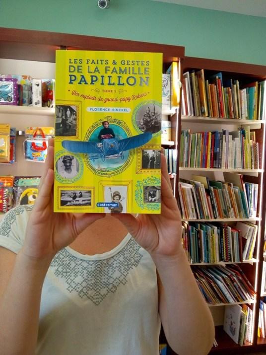 La famille Papillon : Librairie Point de Côté (Suresnes)
