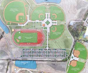 Groundbreaking held for new sports complex: RedWolves stadium included in plans