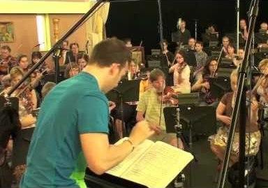 Yannick Nezet-Seguin recording Florent Schmitt's Tragedie de Salome