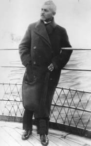 Florent Schmitt French composer aboard ship