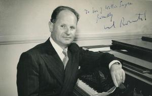 Manurl Rosenthal French conductor