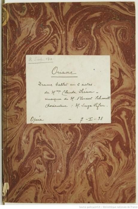 Florent Schmitt Oriane et le Prince d'Amour