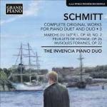 Florent Schmitt Piano Four-hands music (volume 3) (Invencia Piano Duo)