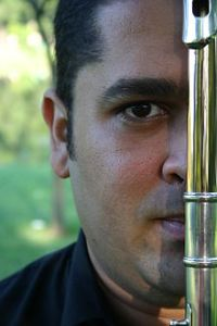 James Strauss, Brazilian flute player