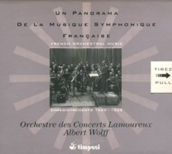 Timpani Records Complete Albert Wolff recordings with Orchestre Lamoureux
