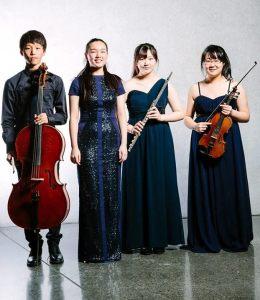 Schmitten ensemble at the 2014 Chamber Music Contest in New Zealand