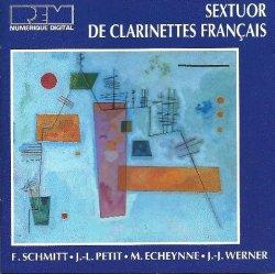 Sextuor de clarinettes francaise Schmitt REM