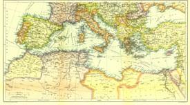 Mediterranean sea 1910