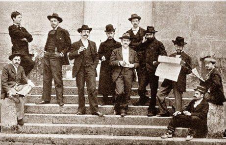 Prix de Rome composition candidates 1900