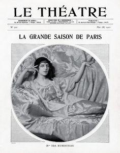 Ida Rubinstein 1912