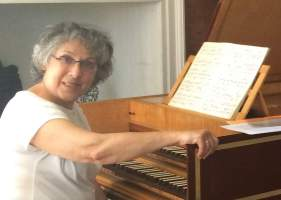 Laure Morabito harpsichordist