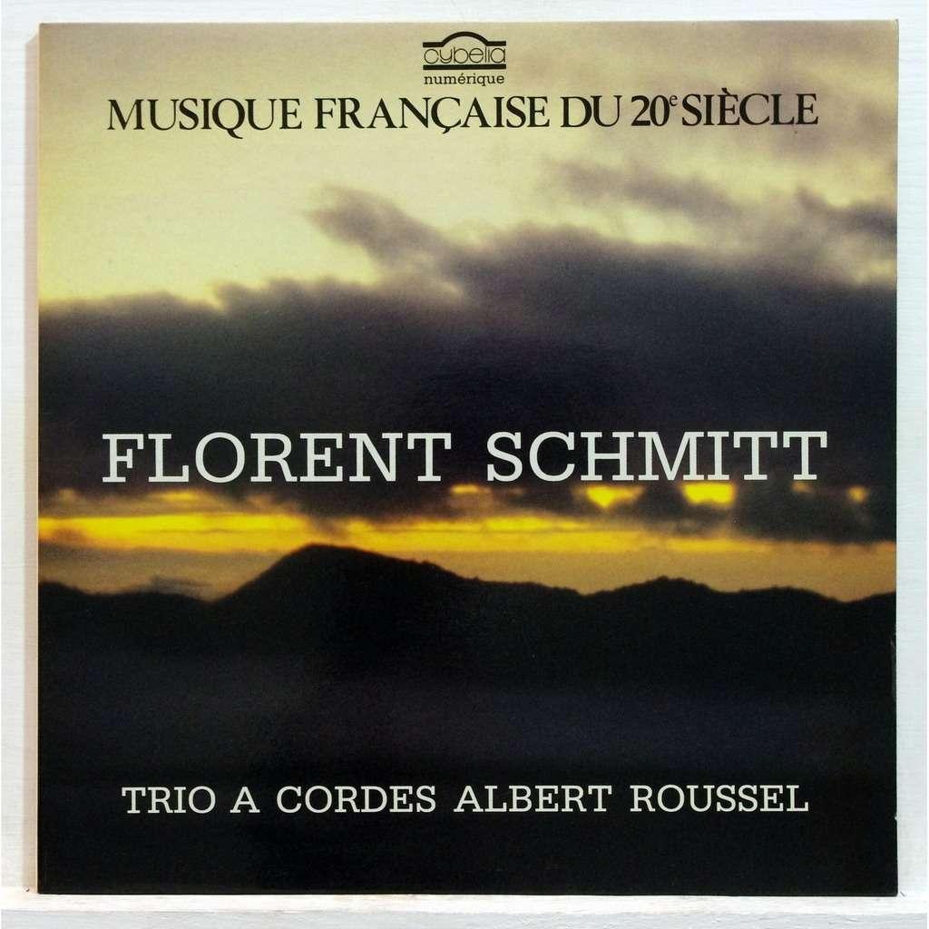 Florent Schmitt String Trio Op. 105