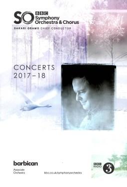 BBCSO Program Cover
