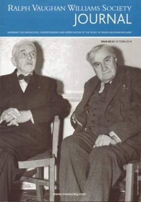 Ralph Vaughan Williams Florent Schmitt 1956