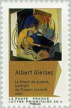 Albert Gleizes Florent Schmitt postage stamp 2012