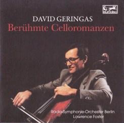 David Geringas Beruhmte Celloromanzen Eurodisc CD