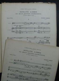 Florent Schmitt Sonate libre