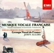 Musique vocale francaise John Alldis EMI Florent Schmitt