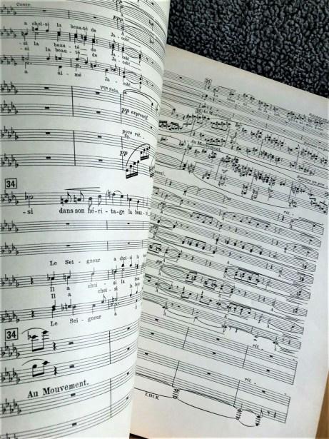 Florent Schmitt Psaume XLVII score soprano sectioin
