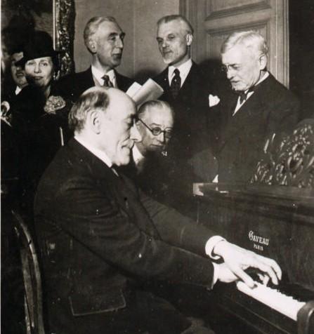 Ricardo Vines, Edouard Ravel, Florent Schmitt 1938 Tribute to Maurice Ravel