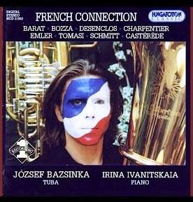 French Connection Florent Schmitt Quartet Bazsinka Hungaroton 2000