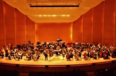 Buffalo Philharmonic Orchestra Florent Schmitt rehearsal March 2020 Falletta Chooi
