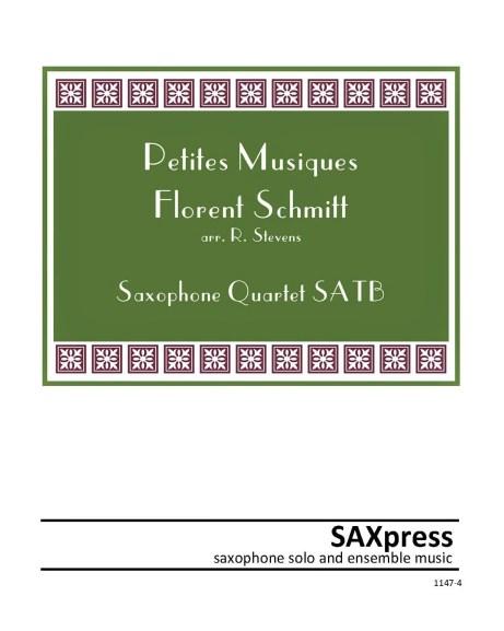 Florent Schmitt Petites Musiques sax arrangement R. Stevens