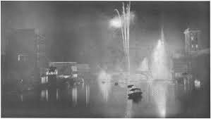 Paris Exposition Festivals of Lights 1937