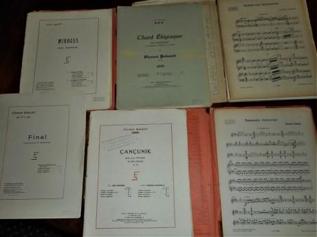 Florent Schmitt Orchestral Scores + Parts