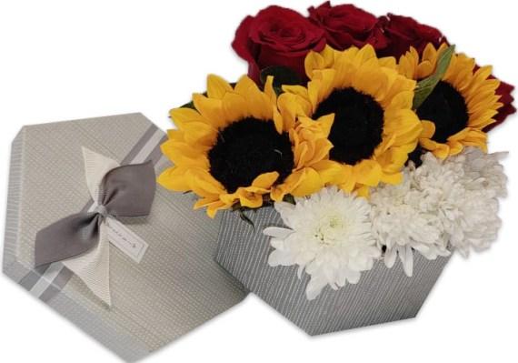 Caja de Flores Pamela